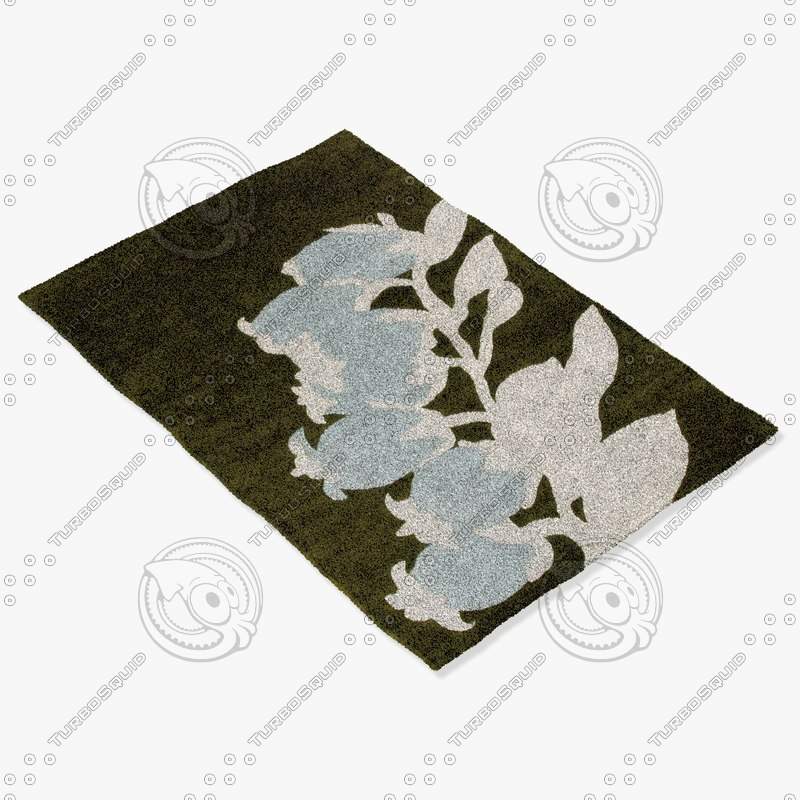 3ds chandra rugs t-bgd