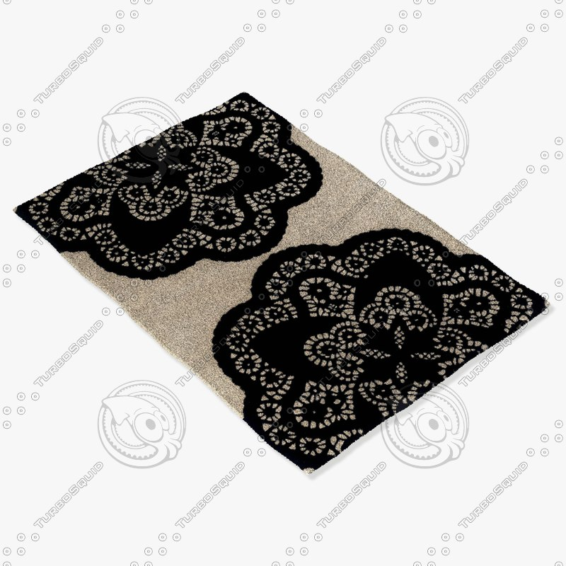 3d model chandra rugs t-doec