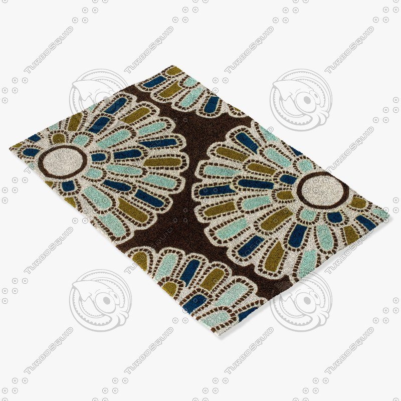 chandra rugs t-fcag 3d 3ds