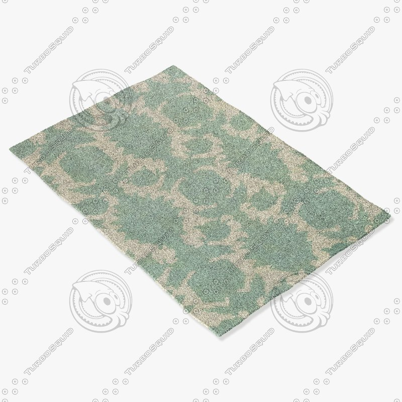 3d model chandra rugs t-fddc