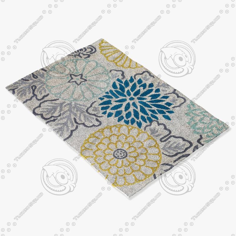3d model chandra rugs t-kitk