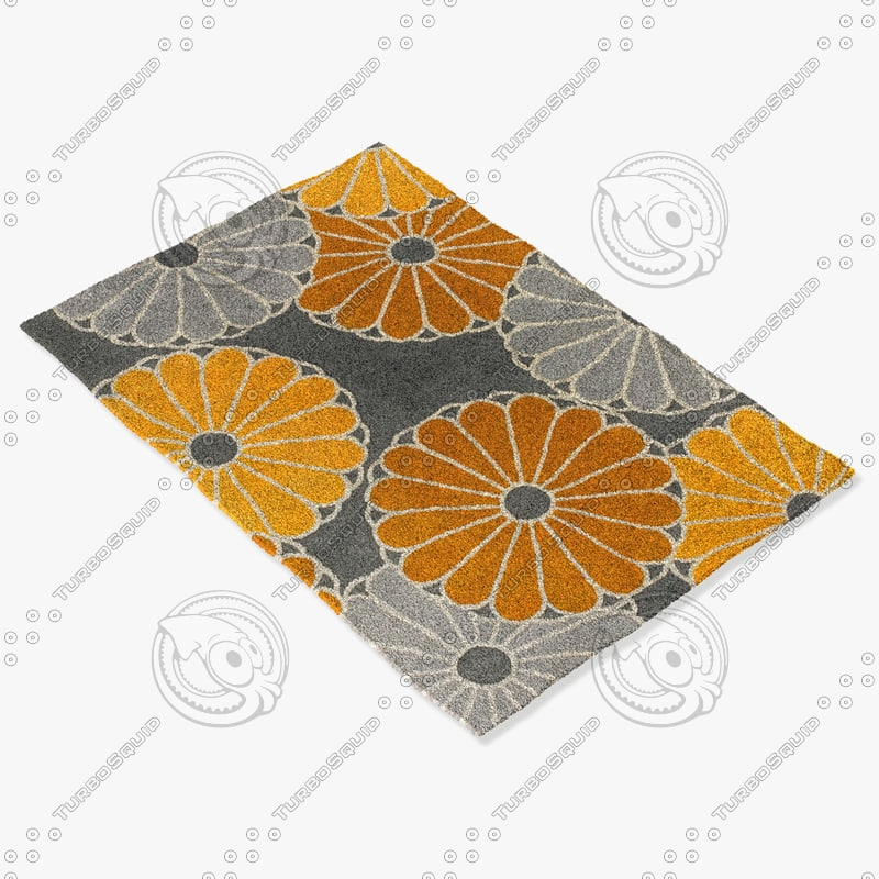 chandra rugs t-pcgc 3d model