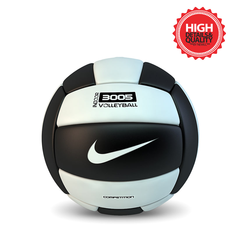 volleyball ball 3d max