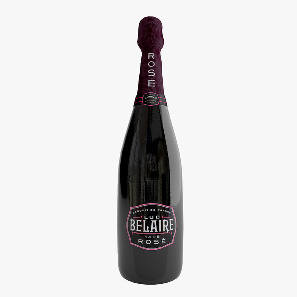 belaire bottle 3d model