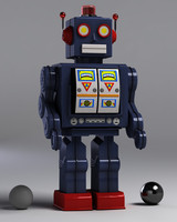 Robot - toy - Realistic