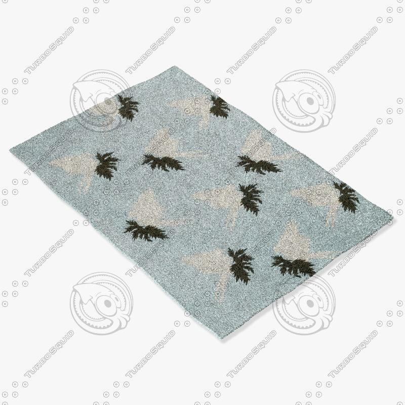 chandra rugs t-sdpc 3d model