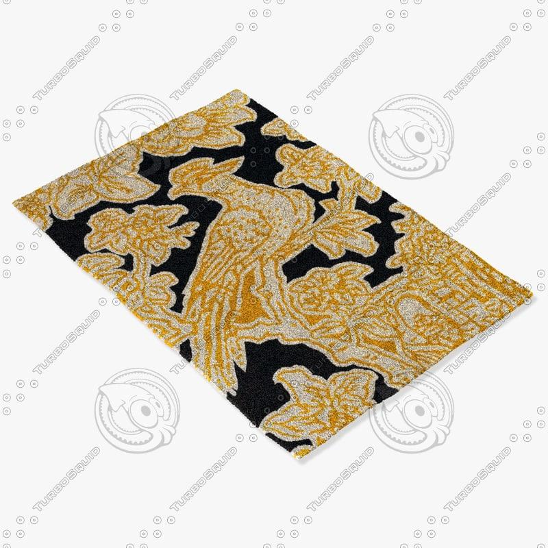 chandra rugs t-toec 3d model