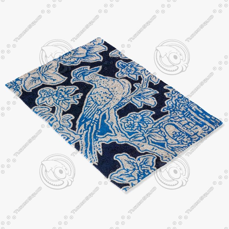chandra rugs t-toib 3d max