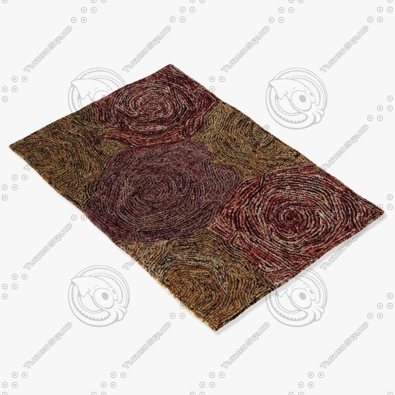 3d chandra rugs twi-25102 model