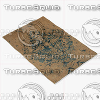 3d chandra rugs vel-29302 model