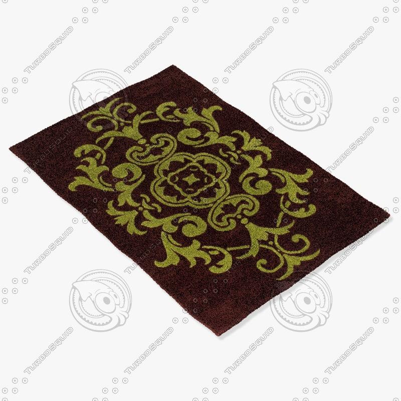 chandra rugs ven-6003 3d model