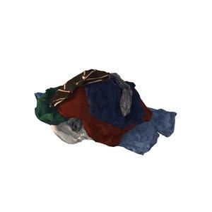 pile clothing 3d obj