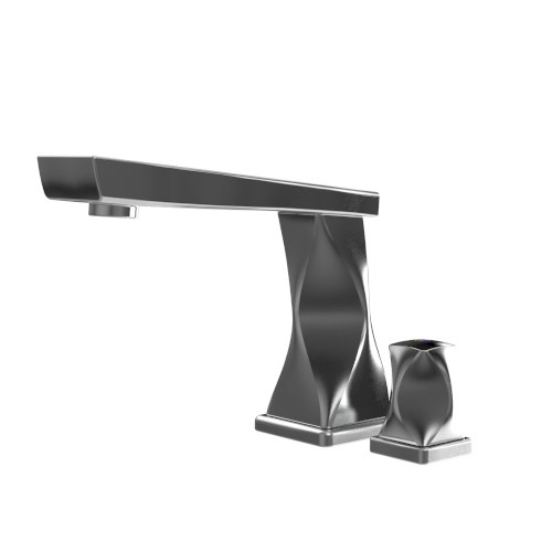 contemporary faucet bathroom 3d max