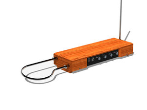 3d model etherwave theremin