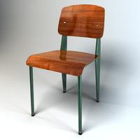 3d jean standard chair vitra