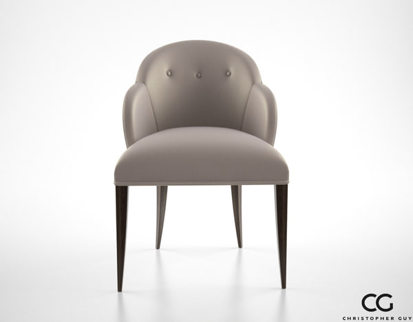 christopher guy vera chair 3d model
