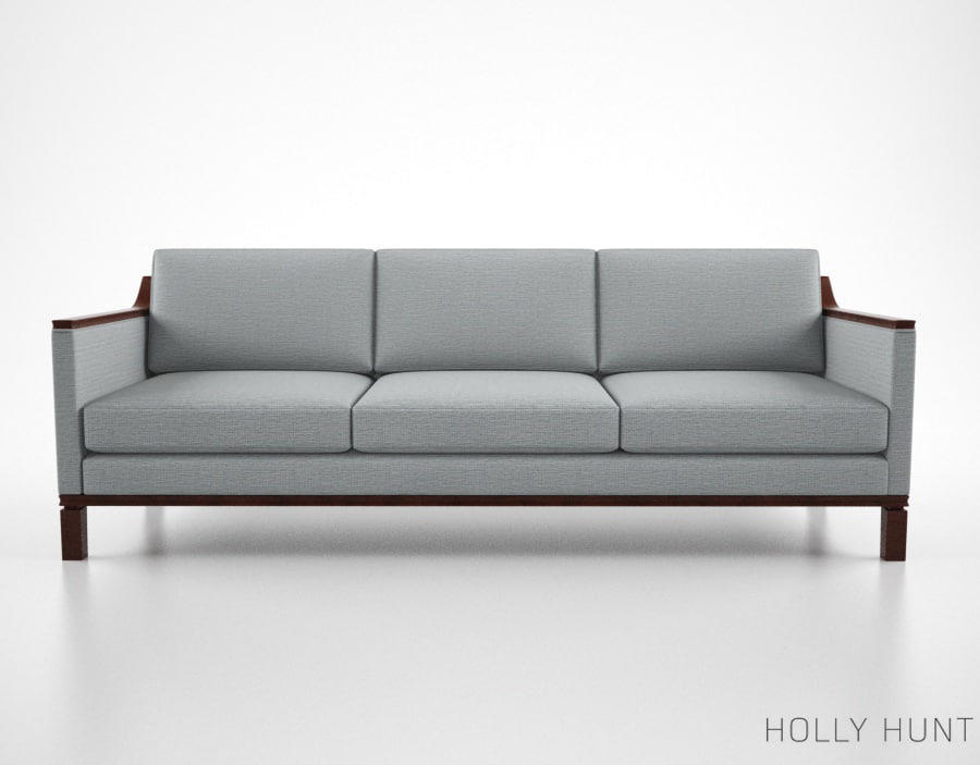 holly hunt vienna sofa 3d ma