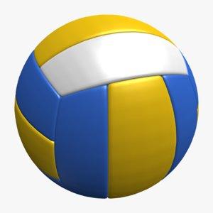 obj volleyball balls