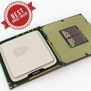 3d obj cpu intel i7 component