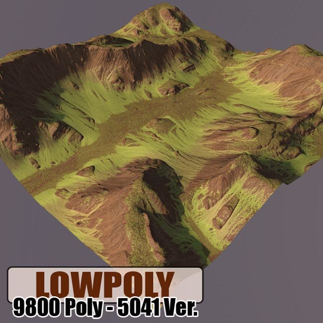 mountain maps terrain 3d max