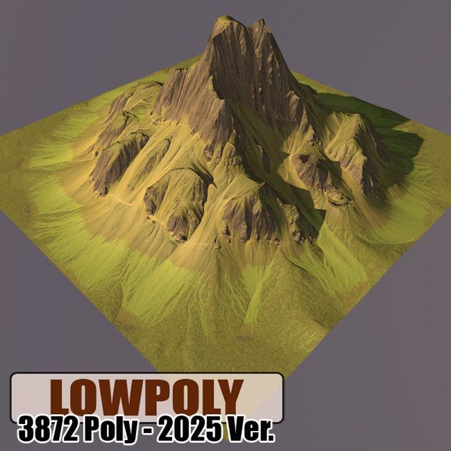 3dsmax mountain maps terrain