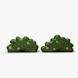 toy shrubs 3d 3ds