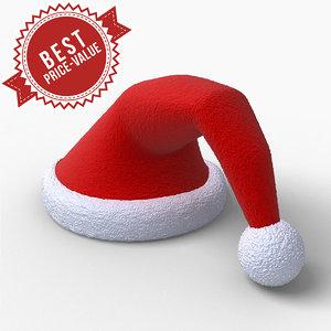 3d max christmas cap