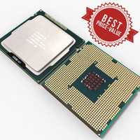 cpu intel celeron g465 3d model