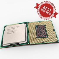3d model cpu intel i3 component