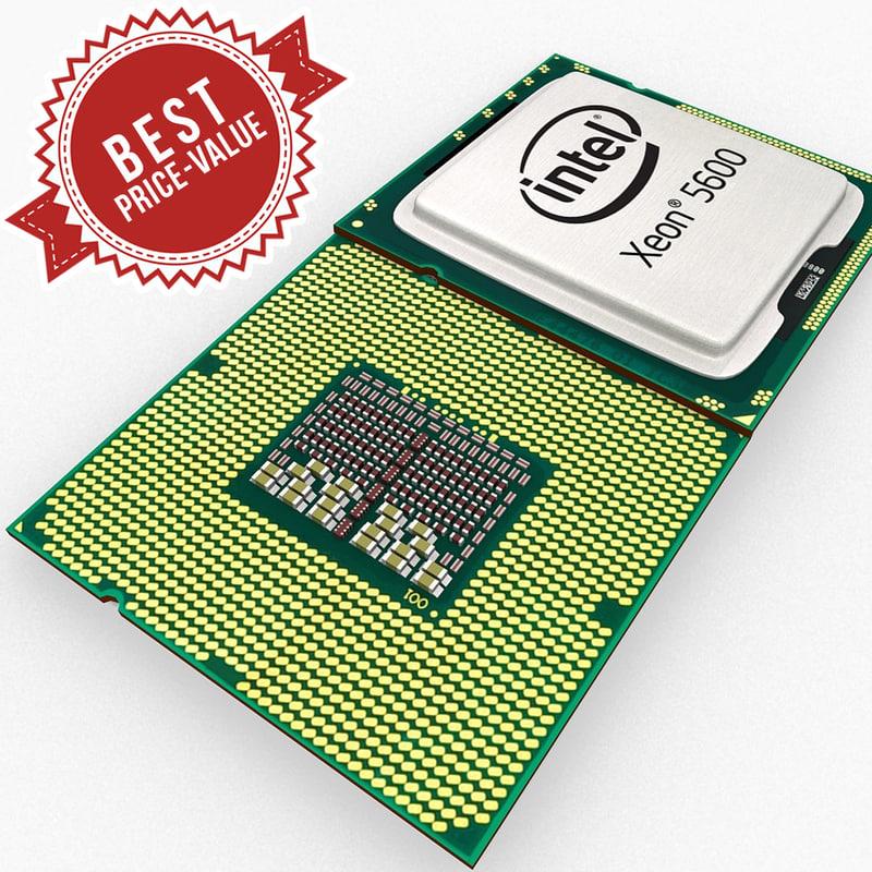 3d cpu intel xeon 5600 model