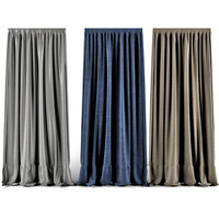 3ds max curtains modern