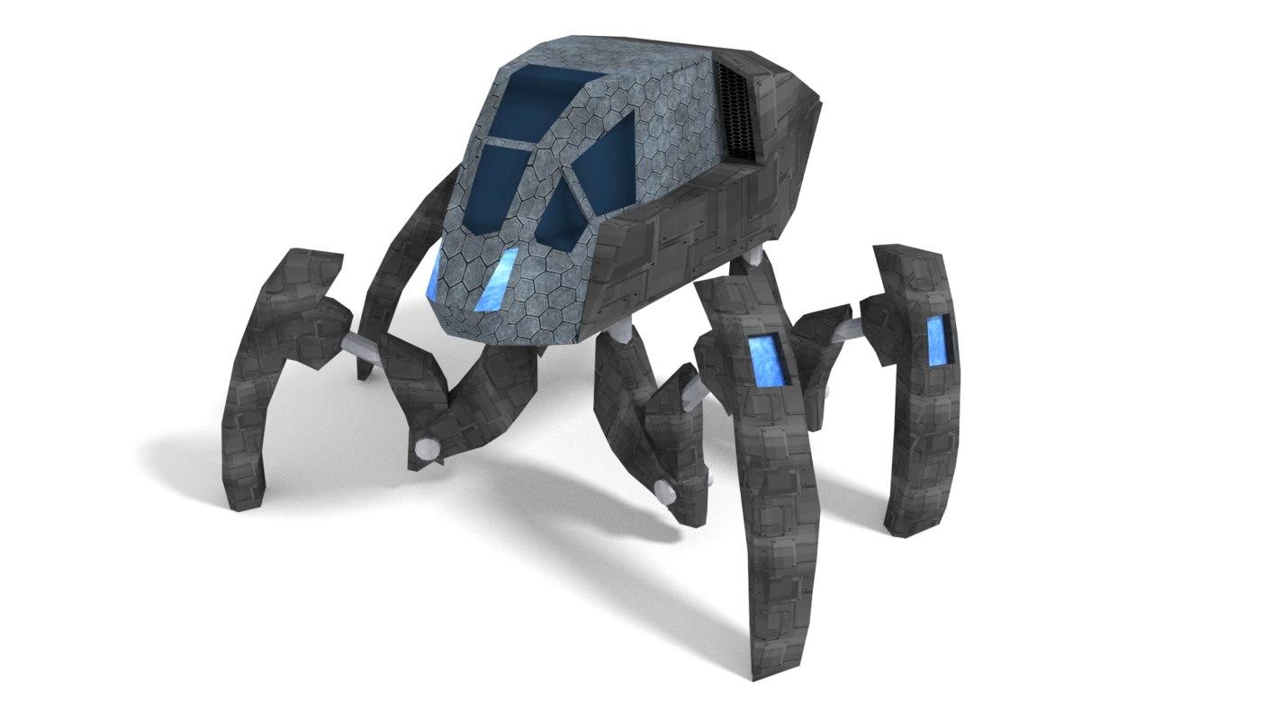 3d advanced spider