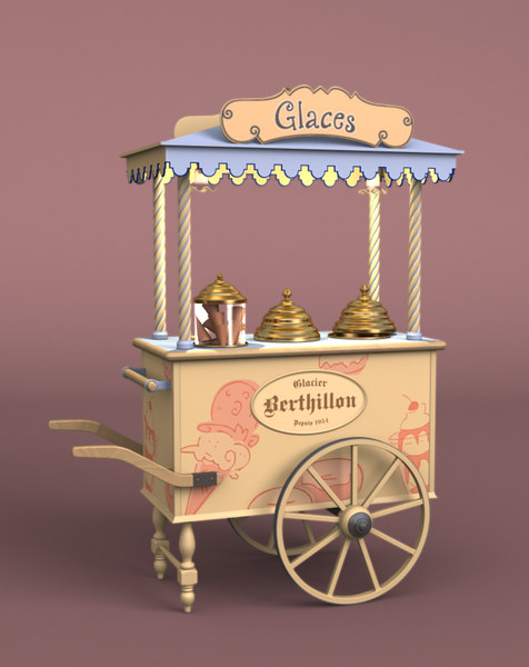 french ice-cream handt 3ds