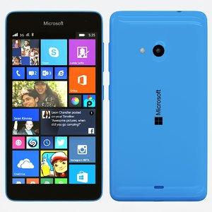 3d max microsoft lumia 535