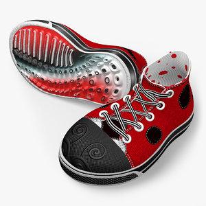 3dsmax sneakers unique imaginary