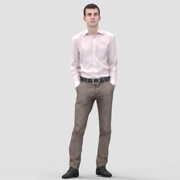 3d max realistic human