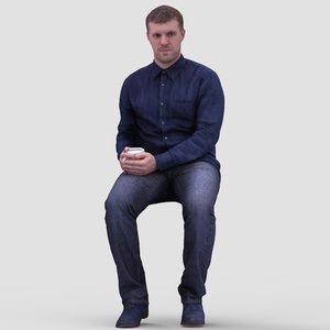 3d 3ds realistic human