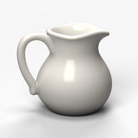 porcelain tea pot 3d model