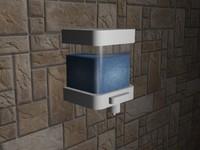 free liquid soap dispenser 3d model