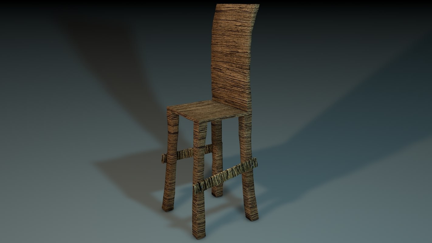 medieval chair c4d