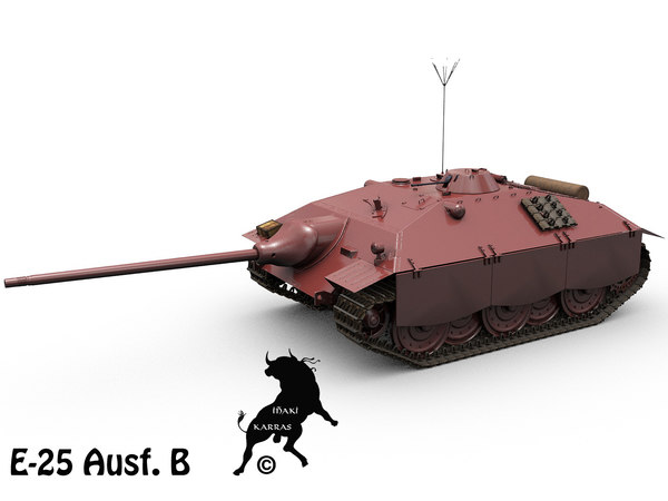 german tanks e-25 ausf max