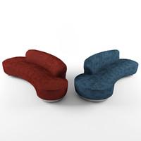 3d model sorento sofas