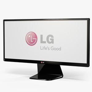 lg 29um65-p monitor 3d max