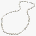 pearl necklace 3D models