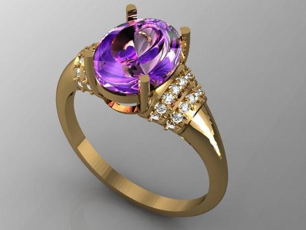 stl ring 1 3d model