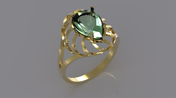 stl ring 3d 3ds