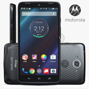 3d motorola droid turbo black