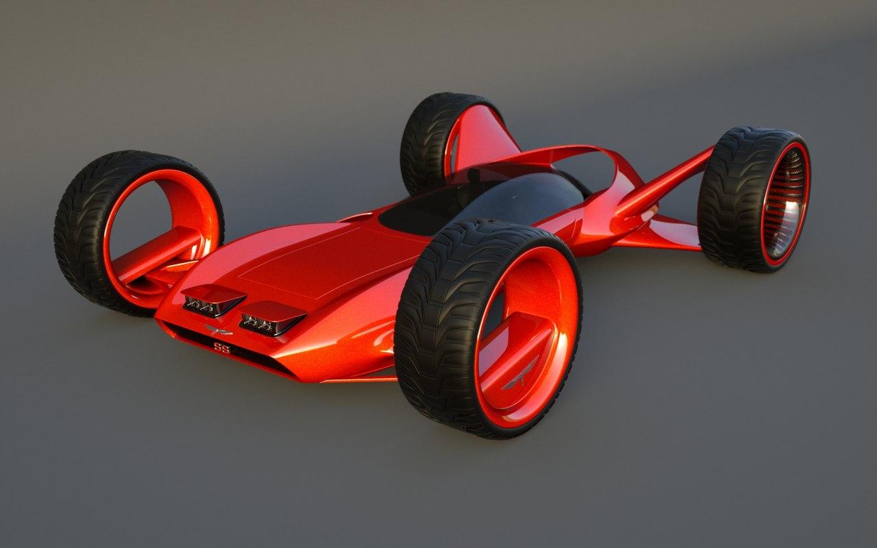 3d model speed originally designed