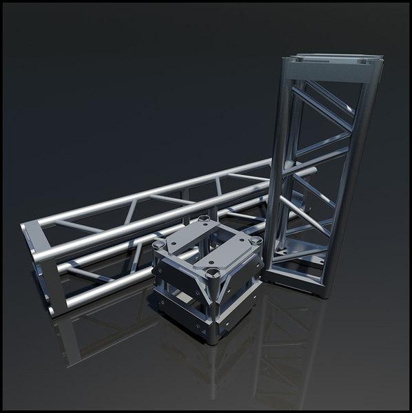 dwg truss steel