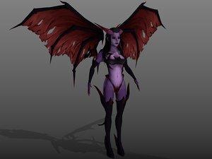 succubus demon 3d 3ds
